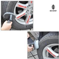 Hình ảnh Bàn chải, cọ, chổi chuyên chà rửa lốp xe, bánh xe hơi, xe ô tô, xe tải, xe khách, xe máy làm tăng tuổi thọ xe_RX17 (xám)
