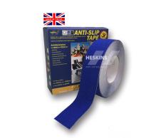 Hình ảnh Băng dán chống trơn trượt Heskins Safety-Grip H34010050B 50mm x 18.3m (Xanh dương nhám)