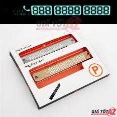 Bảng ghi số điện thoại phản quang cực đẹp và thiết yếu cho ô tô
