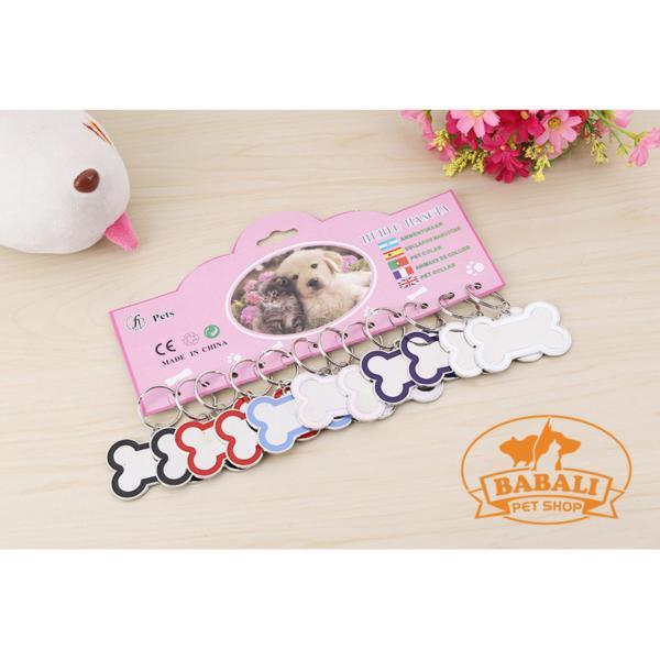 Bảng Tên Cho Chó & Mèo BABALI - bbl_046 - Màu Ngẫu Nhiên