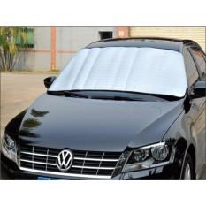 Bạt chống nóng kính trước ngoài xe ô tô (Bạc)