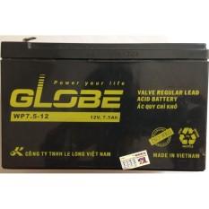 Giá Bán Binh Ắc Quy Kho Globe Wp7 5 12 12V 7 5Ah Danh Cho Bộ Lưu Điện Ups Globe Tốt Nhất