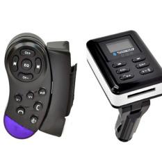Bluetooth Car Kit MP3 Player FM Transmitter Steering Wheel Handsfree SD/USB/MMC w/Remote