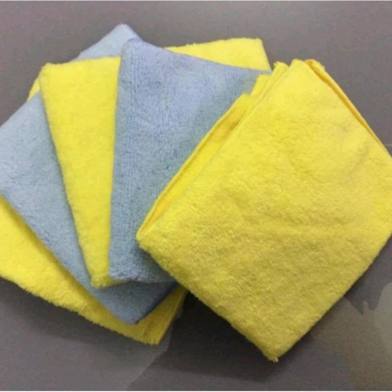 05 khăn 3M Microfiber Detail Cloth lau xe chuyên dụng