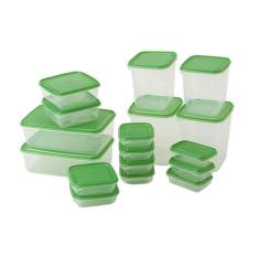 Bán Bộ 17 Hộp Nhựa Đựng Thực Phẩm Ikea Người Bán Sỉ