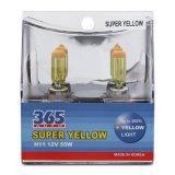 Bộ 2 Bong Đen Pha Sương 365 Auto H11 Super Yellow Vang 365 Auto Chiết Khấu 30