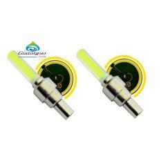Bộ 2 Đèn LED gắn van đổi màu cho bánh xe máy ô tô 206131-2A