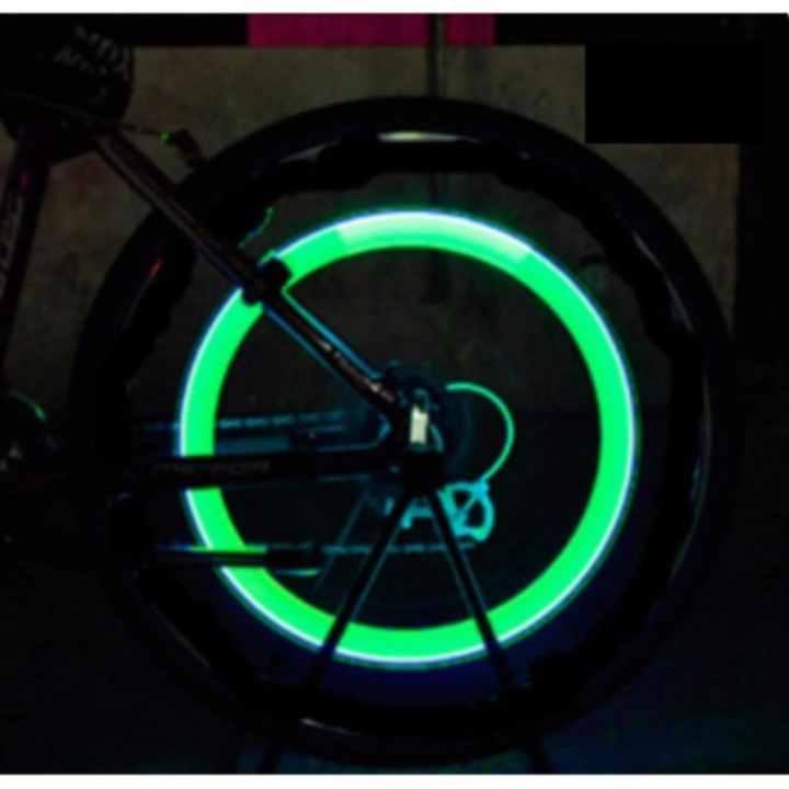 Bộ 2 Đèn LED gắn van đổi màu cho bánh xe máy ô tô