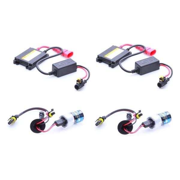 Bộ 2 đèn xenon HID xe oto 35w H7 6000K 12V sáng TRẮNG ( giá 2 bóng + 2 ballast )