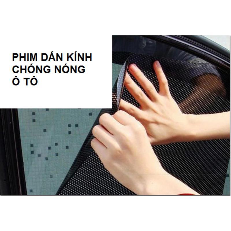 Bộ 2 tấm Phim dán kính chống nóng ô tô