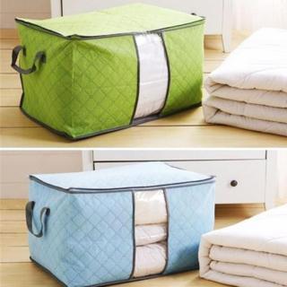 Bộ 2 túi vải đựng chăn màn quần áo tiện dụng thumbnail