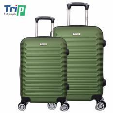 Giá Bán Bộ 2 Vali Trip P805 Size 20 24Inch Xanh Reu Trip Mới