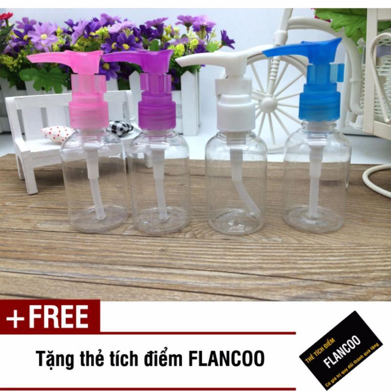 Bộ 3 chai chiết dung dịch mỹ phẩm du lịch Flancoo S1311 (Ngẫu nhiên) + Tặng kèm thẻ tích điểm Flancoo