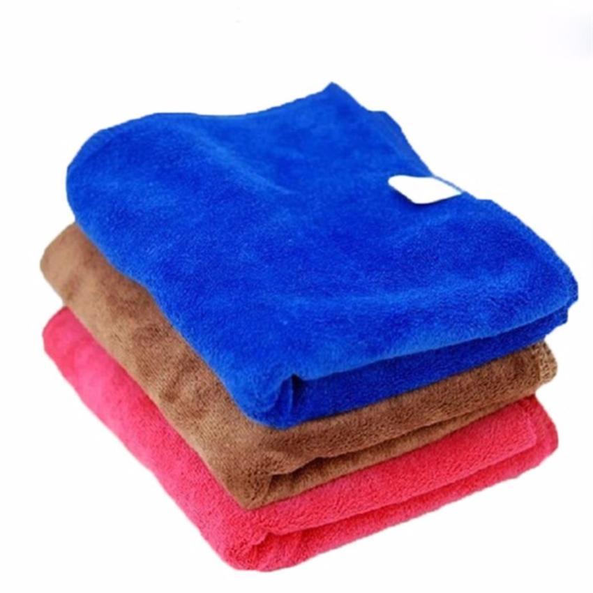 Bộ 3 khăn rửa xe ô tô 30 x 70