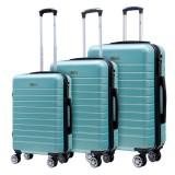 Giá Bán Bộ 3 Vali Chống Trộm Trip Pc911 Size 20 24 28Inch Xanh Ngọc Trip Trực Tuyến