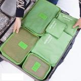 Giá Bán Bộ 6 Tui Du Lịch Chống Thấm Bags In Bag Xanh La Mới