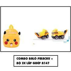 Cửa Hàng Bộ Balo Hoạt Hinh Pikachu Xe Lắp Rap A147 Vang Hồ Chí Minh