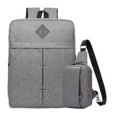 Mã Khuyến Mại Bọ Balo Laptop Và Túi Messenger Glado Bbl003 Màu Xám
