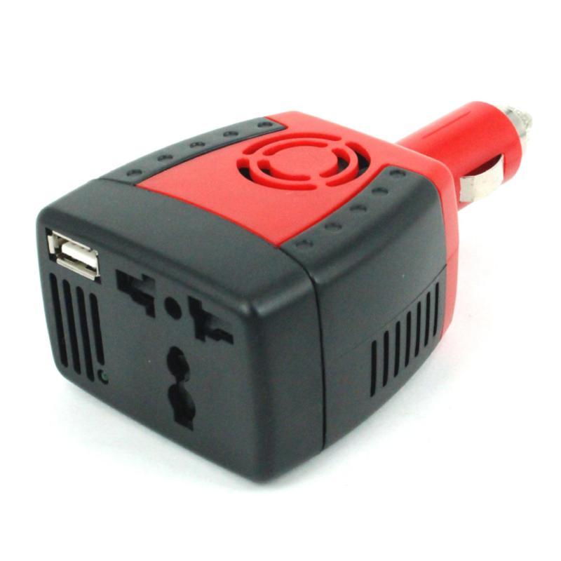 Bộ chuyển đổi nguồn điện 12V lên 220VAC – 150W cho xe hơi