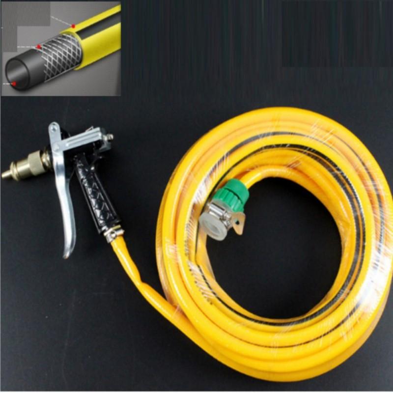 Bộ dây và vòi xịt tăng áp lực nước 300% loại 10m + Tặng kèm móc khóa da    T400I
