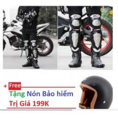 Bộ Giap Inox Moto Tặng Non Bảo Hiểm ¾ Chiết Khấu Hồ Chí Minh