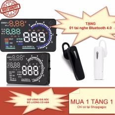 Chiết Khấu Bộ Hiển Thị Tốc Độ Tren Kinh Lai Hud A8 Tặng Kem Tai Nghe Bluetooth Chất Lượng Cao Oem Việt Nam