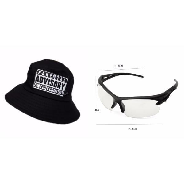 Giá bán Bộ kính phân cực nhìn xuyên đêm và mũ bucket đen nam nữ