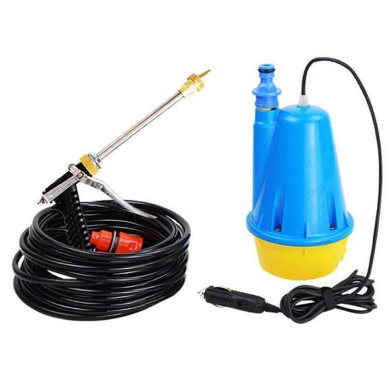 Bộ máy bơm nước cao áp rửa xe ô tô mini thông minh Kinglucky