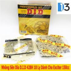 Ôn Tập Bộ Nhong Sen Dĩa 10 Ly 428H D I D Danh Cho Exciter 150Cc