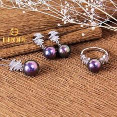 Bán Bộ Trang Sức Bạc Tiara Pearl Eropi Jewelry