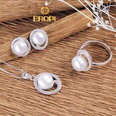 Bộ Trang Sức Bạc Wonderful Pearl Eropi Jewelry Rẻ