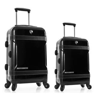 [HCM]Bộ vali kéo nhựa cứng khóa sập cao cấp Attitude TSA Black size S và size M TM431 thumbnail