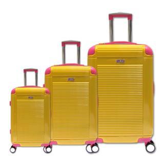 [HCM]Bộ vali du lịch nhựa dẻo siêu nhẹ cần kéo Inox Cosas United TSA size 20 24 và 28 TA270 thumbnail