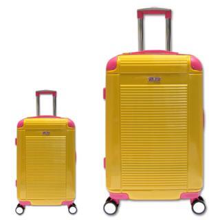 Bộ vali du lịch nhựa dẻo siêu nhẹ cần kéo Inox Cosas United TSA size 20 và 28 TA270 thumbnail