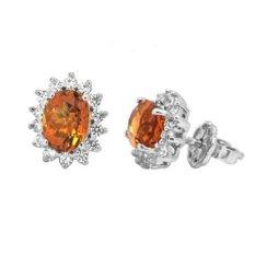 Mã Khuyến Mại Bong Tai Đa Thạch Anh Vang Thao Linh Jewelry Bt0371 Trong Vietnam