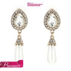 Giá Bán Bong Tai Statement Pearl Drop Tatiana B1050 Nhãn Hiệu Tatiana