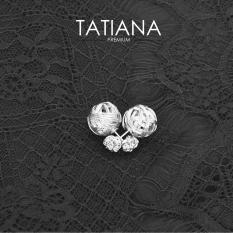 Bán Bong Tai Stellar Tatiana Prebh004B209 Mau Bạc Tatiana