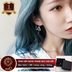 Mua Bong Tai Thời Trang Bạc Tam Giac Dang Dai Ca Tinh Bt03 Redd Shop Rẻ Trong Hồ Chí Minh