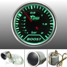 TĂng CƯỜng Turbo Đo Hun KhÓi MẶt ĐỒng HỒ MẶt 52 Mét 2 (thanh) Xanh ĐÈn Led NỘi ThẤt Dash Speedo-Quốc Tế By Autoleader.