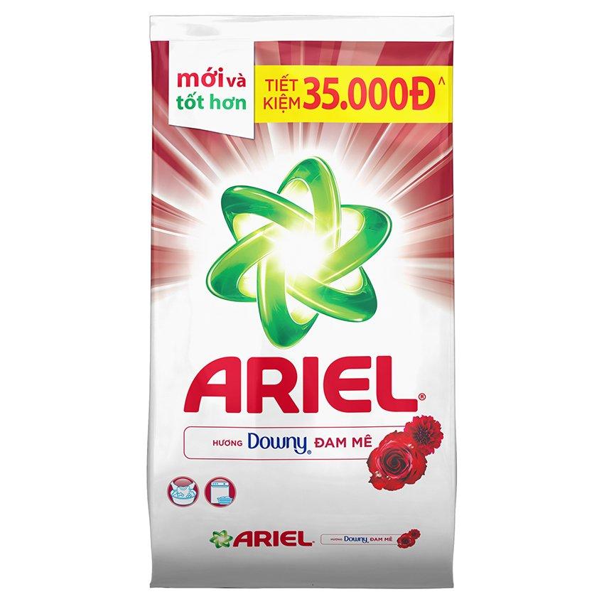 Mã Khuyến Mại Bột Giặt Ariel Hương Downy Goi 3 8Kg
