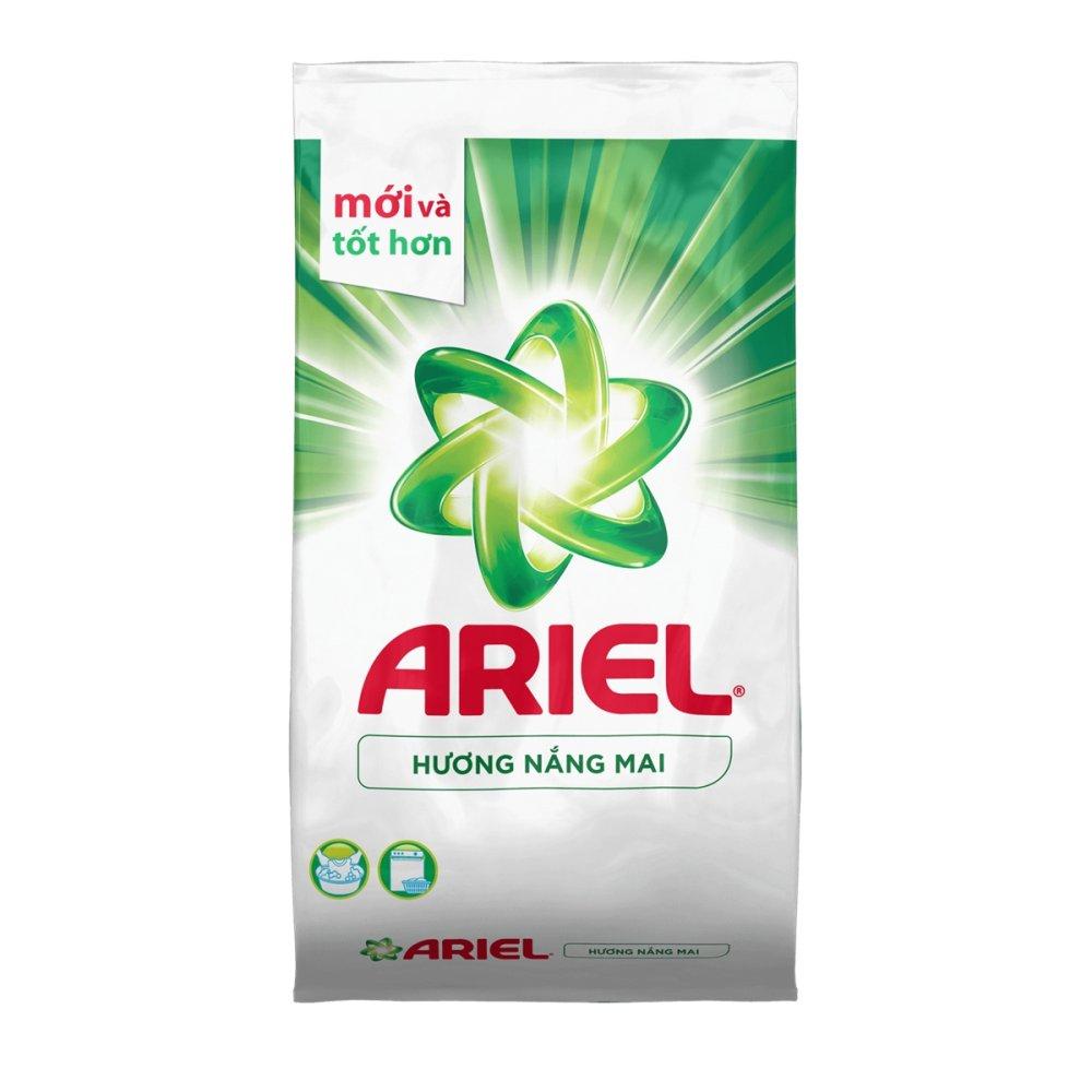 Ôn Tập Bột Giặt Ariel Hương Nắng Mai Goi 2 7Kg Ariel