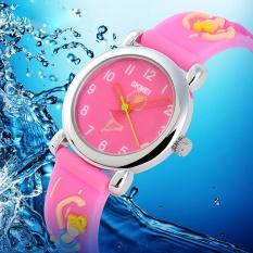 Giá bán Thương hiệu Đồng Hồ Chống Nước con trỏ màu jelly nam nữ học sinh đồng hồ thời trang cá tính tặng 1047-quốc tế