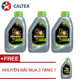 Mã Khuyến Mại Bộ 4 Caltex Havoline Ezy 4T Sae 20W40 Api Sg Jaso Ma2 8L Combo