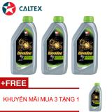 Giá Bán Bộ 4 Caltex Havoline Ezy 4T Sae 20W40 Api Sg Jaso Ma2 1L Combo Nguyên Caltex