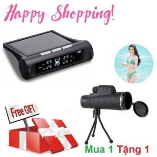 Cảm biến áp suất lốp TPMS (Cao cấp 2017) Tặng kèm Ống zoom Panda 40x cho camera điện thoại thumbnail