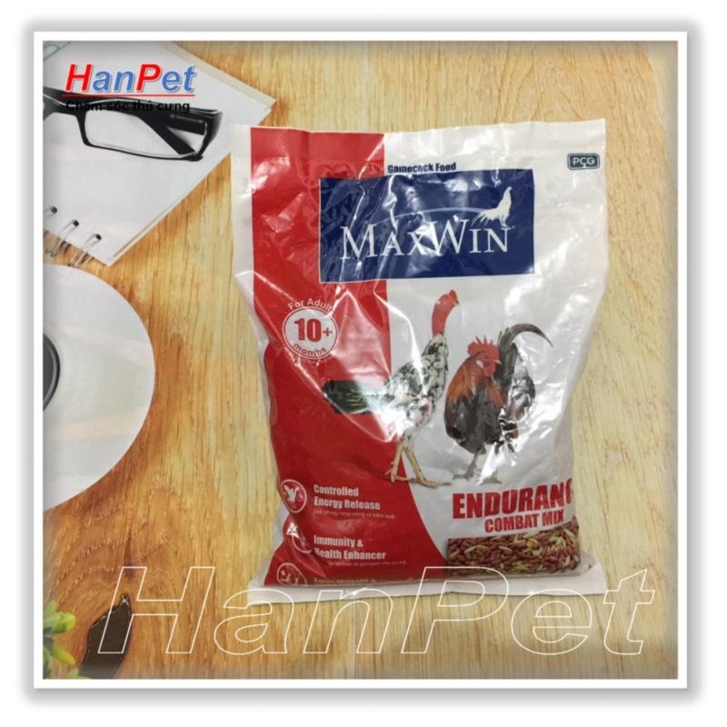 HCM-Cám gà chọi Maxwin - ngũ cốc gà chọi - thức ăn gà đá - kích thích phát triển cơ - gói 1kg (hàng nhập Thái) (  614)-HP10404TC