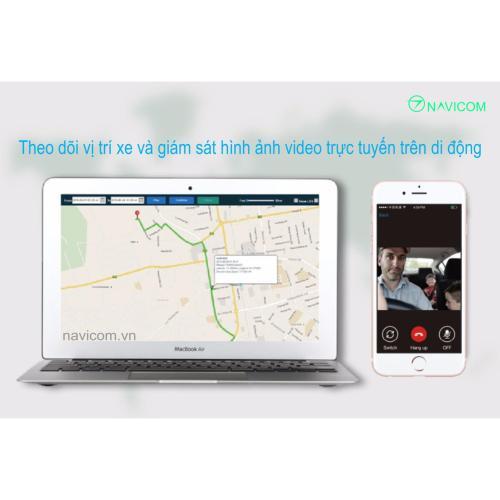 Camera giám sát hành trình 3G GPS tracking phát wifi di động Navicom JC100