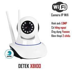 Bán Camera Hd Wireless Ip 8100 Quan Sat Xoay 360 Độ Dung Ứng Dụng Yoosee Trắng Nguyên