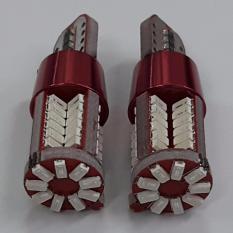 Cặp bóng đèn LED demi / LED xi nhan / Led biển số 12v 10W - 57 Chip Led màu xanh lá