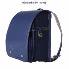 Giá bán Cặp chống gù lưng cho trẻ em xuất xứ Nhật bản - Khóa tự động (Xanh Navy)